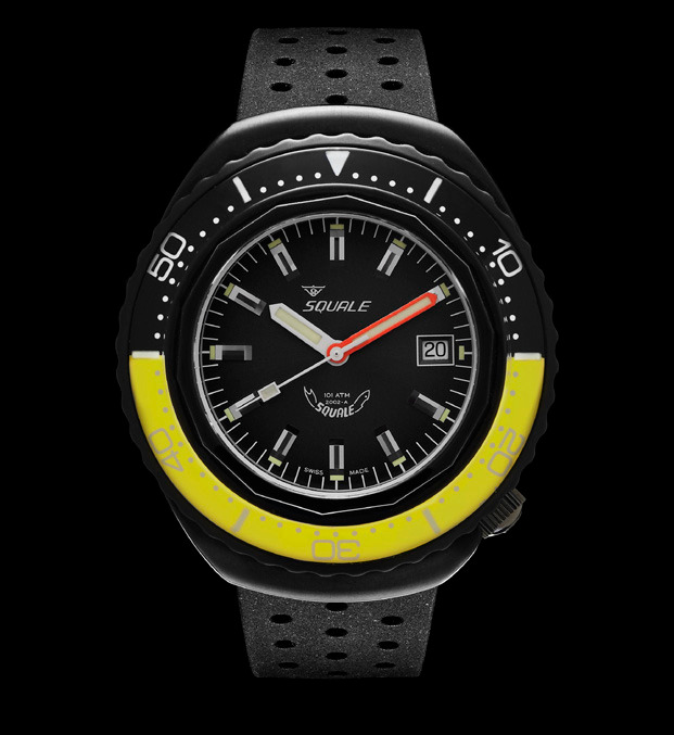 Squale 101 atmos - 2002 - Yellow/Black