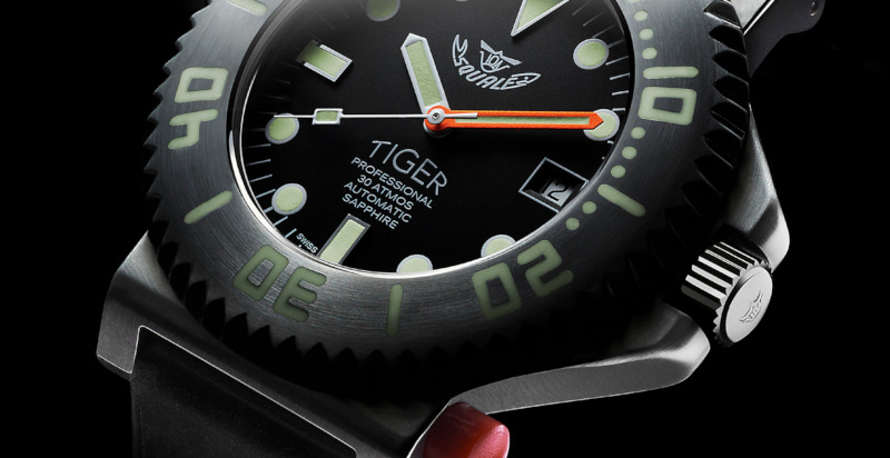 Squale Tiger Watch