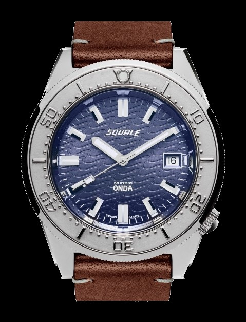 Squale 50 atmos - Onda - Purple -1521 Dive Watch