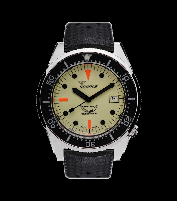 Squale Watch - 50 atmos - 1521 Full Lume