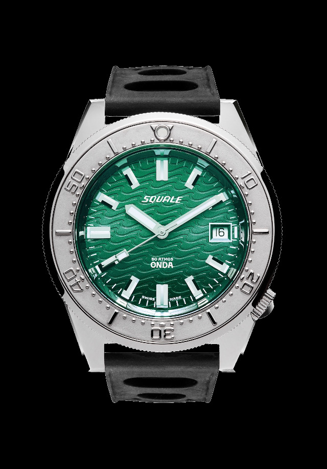 Squale 50 atmos Onda Emerald Green Dive Watch