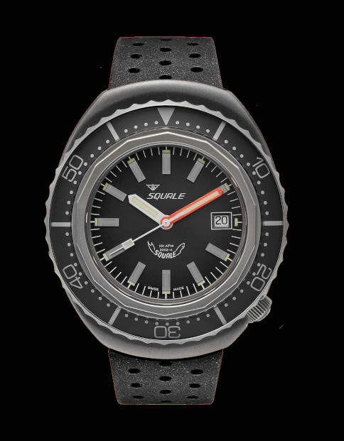 Squale 101 atmos 2002 Grey Blasted Dive Watch