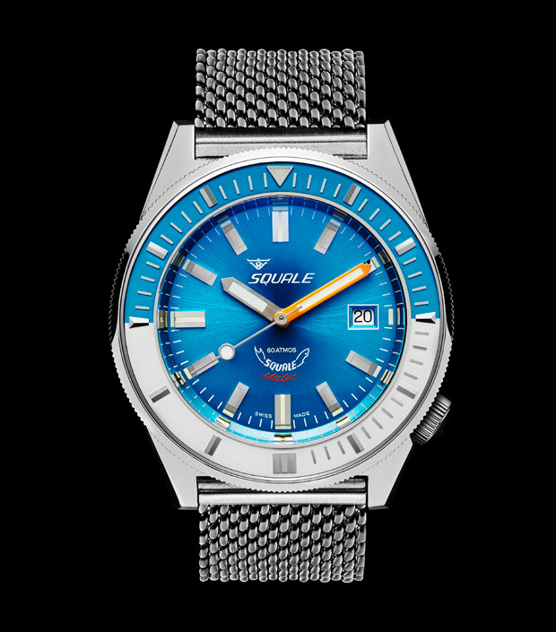 Squale 60 atmos - Squalematic - Blue