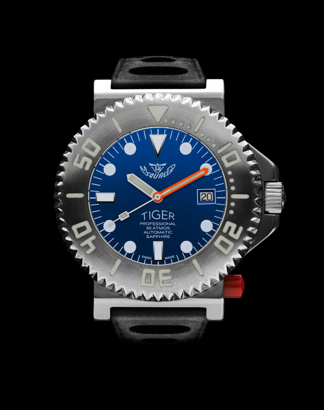 Squale Tiger Blue