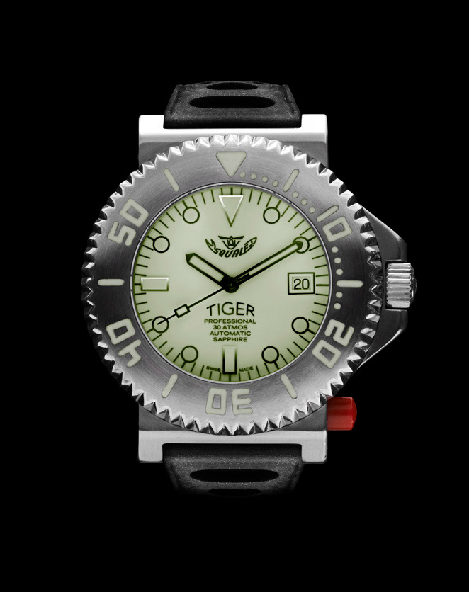 Squale Tiger White