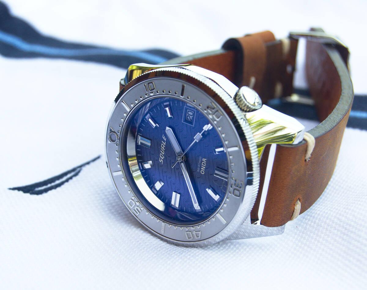 Squale 50 atmos 1521 Dive Watch - Onda Purple
